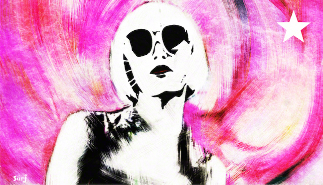 Karen O, the yeah yeah yeahs,  the yeah yeah yeahs tour, pop art, wild night, art, street art, surj artwork