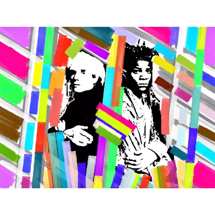 art, pop stars, warhol, basquiat, pop art, keith haring, lichtenstein