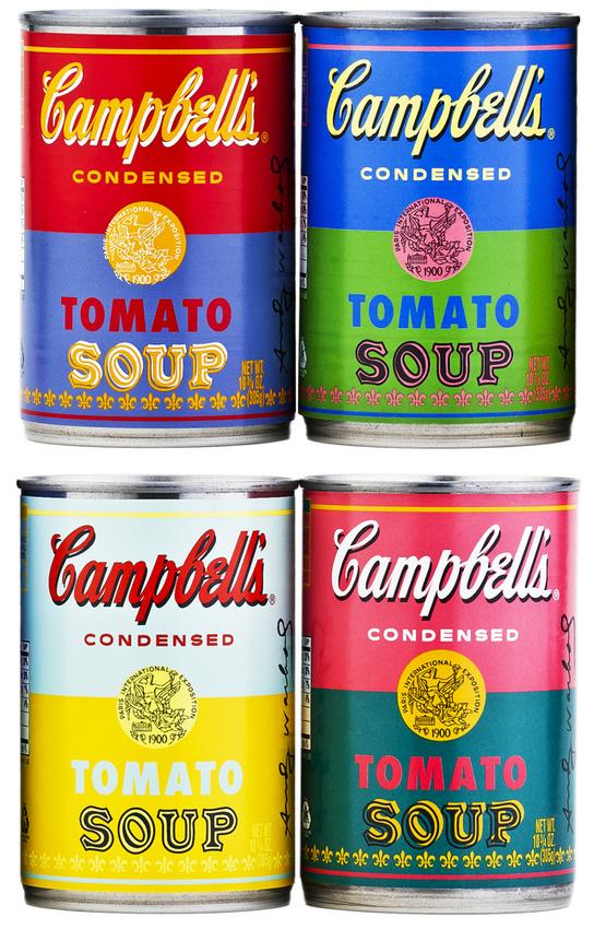 campbells soup can art